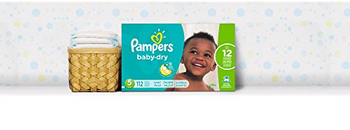 Large Product Image of Pampers Baby-Dry Disposable Diapers Size 5, 112 Count, GIANT