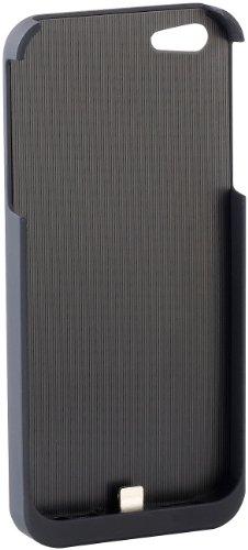 Callstel QI Ladegerät: Induktions-Ladestation und Qi-Receiver-Case für iPhone 6/s (Induktiv Charging-Pad, kabellos)