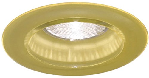 Minka Lavery Recessed Trims WG500-SY, 4 inch Round IC Rated Glass Recessed Lighting Trim Ring, 50 Watts, Yellow (Trim Minka Lavery)