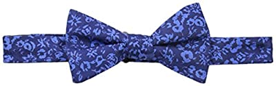 Tommy Hilfiger Men's Printed Floral Pre-Tied Bow Tie