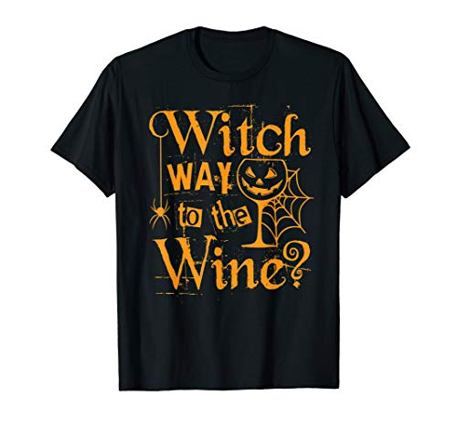 Funny Halloween Witch Wine Party Gift Easy Costume -