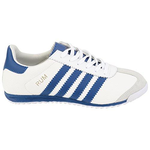 Shoes Click , Herren Sneaker weiß / blau