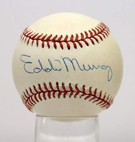 EDDIE MURRAY ORIOLES SIGNED AUTOGRAPHED OAL BASEBALL BALL PSA/DNA #AE93549 (Ball Oal Baseball)