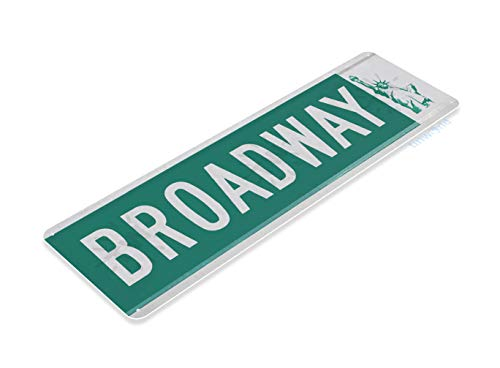 Tinworld Tin Sign Broadway Street Metal Sign Decor New York Liberty Cottage Bar Cave B222 -