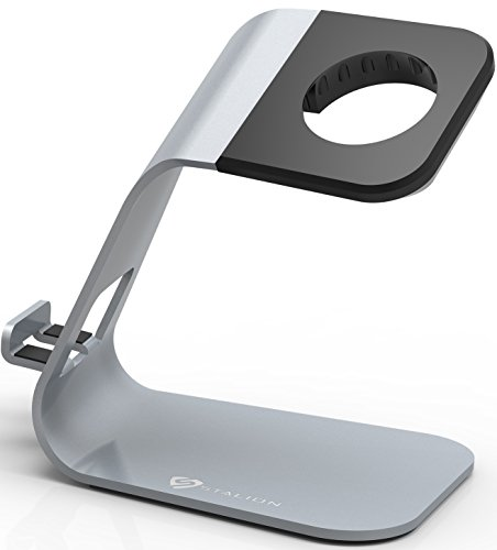 Apple Watch Stand & iPhone 6 Dock: Stalion 2in1 Desktop C...