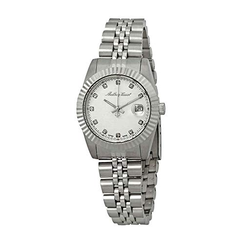 Iii Silver Dial - Mathey-Tissot Rolly III Crystal Silver Dial Ladies Watch D810AI
