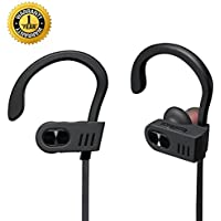 Running Headphones Waterproof IPX7,Wireless Headphones With Microphone ,HD Stereo Sweatproof Earbuds ,Earphones 6- 8 Hrs Battery for Sport Workout Exercise