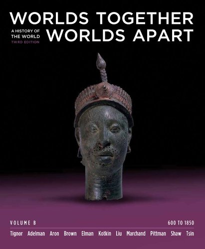 Worlds Together, Worlds Apart: A History of the World: 600 to 1850 (Third Edition)  (Vol. B)