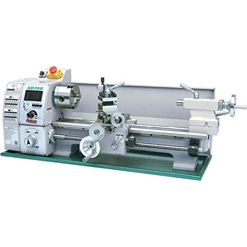 Grizzly G0768 Variable-Speed Lathe, 8 x 16""