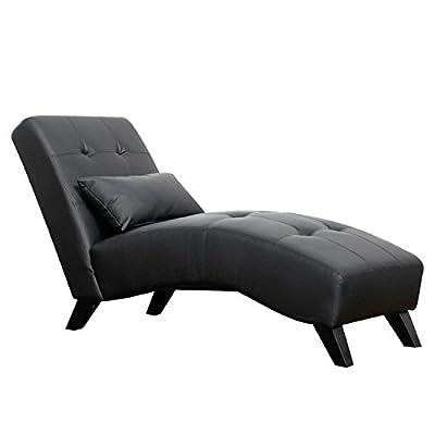 Merax Stylish Chaise Lounge Chair Leisure Sofa Living Room Sleeper Bed