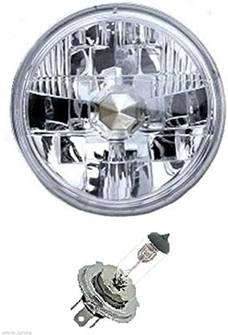 "OCTANE LIGHTING 5-3/4"" 6V Motorcycle Halogen Headlight"