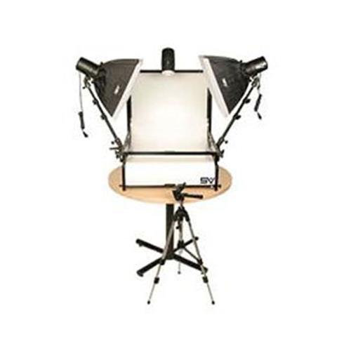 - Smith Victor TST-S2, 2 Light Strobe 220-Watt Second Shooting Table Kit