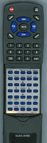 SAMSUNG Replacement Remote Control for LN22C500B2FXZA, LN26C350D1DXZA, PN51D530A3F