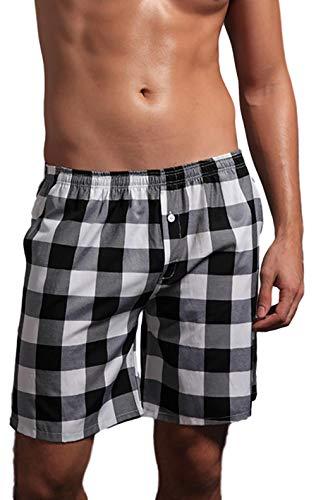 宮殿マウントバスケットボール[エムシービーエム] ステテコ ホームパンツ パンツ ルームパンツ 綿100 肌着 ズボン下 吸汗速乾 メンズ 半ズボン下 ショートパンツ 短パン 綿 100% チェック 柄