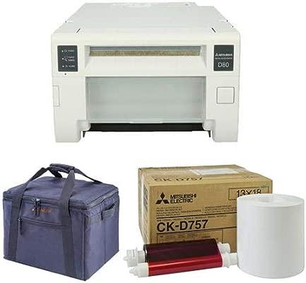 Amazon.com: Mitsubishi CP-D80DW Dye Sublimation Thermal Full ...