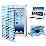 Tablet Cases & Covers , 360 Degree Rotatable Scotland Gyrosigma Case with Holder for iPad 4 / New iPad (iPad 3) / iPad 2 ( SKU : S-IPAD3-0510TT )