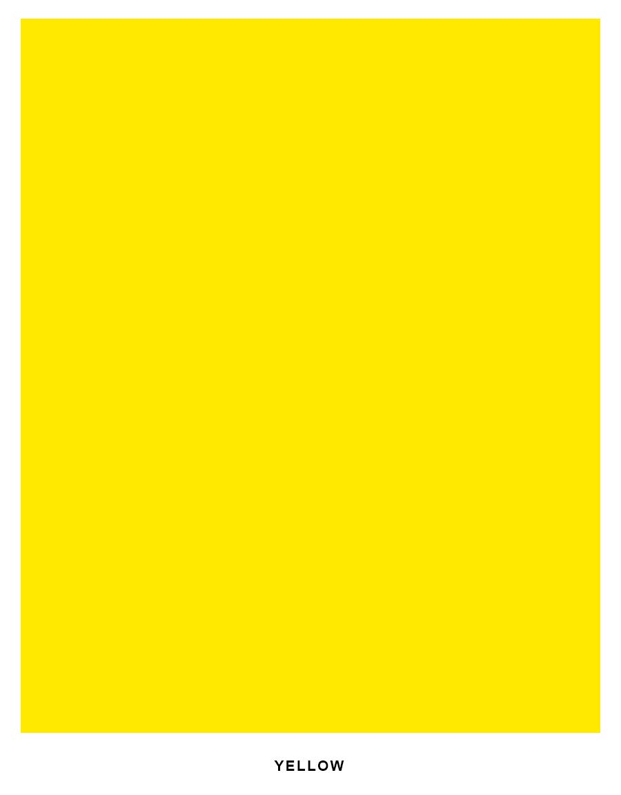 Bright Color Cardstock Paper, 65lb. 8.5 X 11-250 Sheets (Yellow)