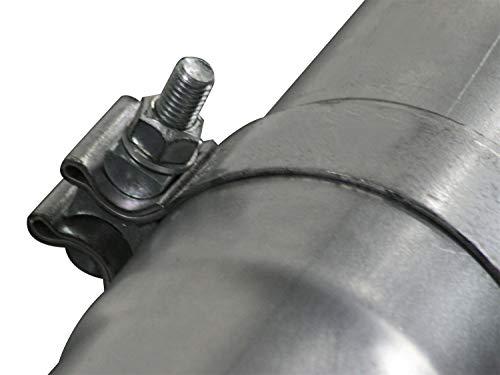 aFe 49-02003NM ATLAS Aluminized Steel Turbo-Back Exhaust System for Dodge Diesel Trucks L6-5.9L/6.7L ()