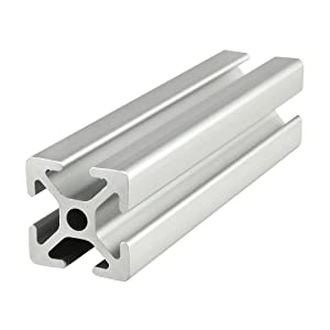 80/20 Inc., 25-2525, 25 Series, 25mm x 25mm T-Slotted Extrusion x 305mm by 80/20 Inc.