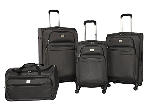 dockers-classic-luggage-set-charcoal-4-pack