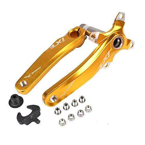 HEALTHLL Bicycle Crank Set IXF 104 BCD CNC Untralight Crank Arm MTB/Road Bicycle Crankset with BB Crank for Bicycle Accessories Bike Part - Road Crankset Cranks