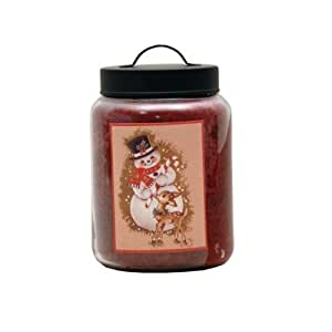 Goose Creek 26-Ounce Apple Spice Jar Candle with Goose Creek Holiday Design