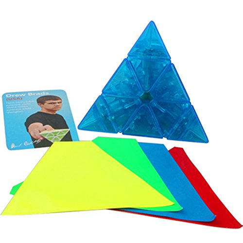 CuberSpeed MoYu Magnetic Pyraminx Speed Cube Limited Edition