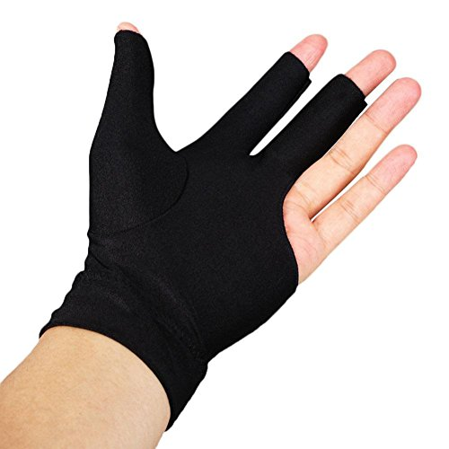 Snooker Left Hand Three Fingertip Glove - 8