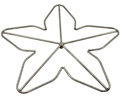 Hearth Products Controls (HPC Penta Fire Pit Burner (PENTA36-NG), 36-Inch, Stainless Steel, Natural Gas