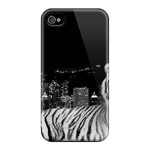 Defender Cases For Iphone 6, City Dark Tiger Pattern