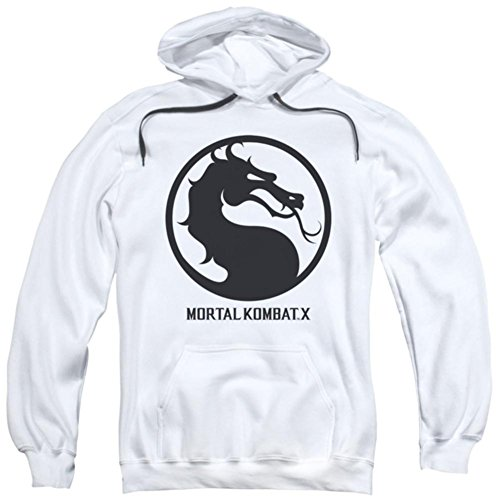 Trevco Hoodie Mortal Kombat X Seal Pullover Hoodie Size L for $<!--$28.60-->