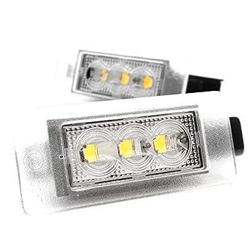 LED Luz de Matrícula CanBus con Autorización V de 032007: Amazon.es: Coche y moto