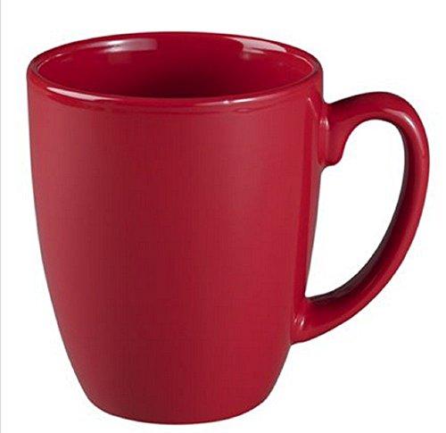 11 Ounce Stoneware (Corelle Livingware 11 oz Stoneware Mug, Berry, Set of 4)