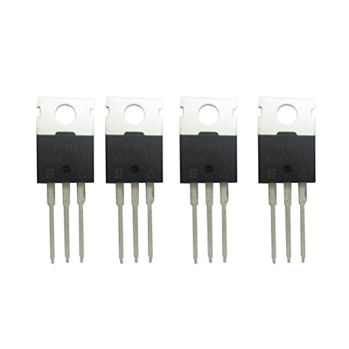 4 Pcs IRF840 IRF840PBF N-Channel Power MOSFET 8A 500V TO-220