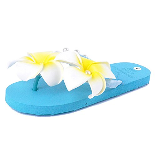 Clip Flip Slides For Anti Flops Beach Women Toe Summer Blue Slipper Slip Sandals zrTSqgxwz