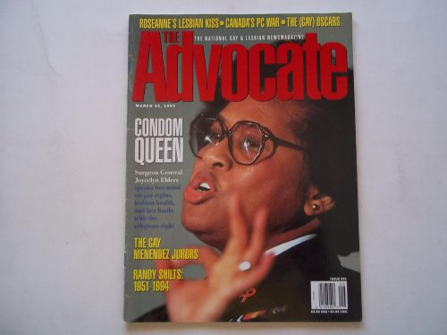 The Stand behind (Issue No. 651, March 22, 1994): The National Gay and Lesbian Newsmagazine (Magazine) (Surgeon General Joycelyn Elders Travel Story & Inside Interview)