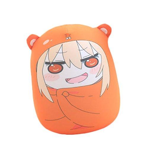 Life Star Pillow Cushion Anime Himouto! Umaru-chan Umaru Doma Plush Doll Puppet Toy Gift (cute1)