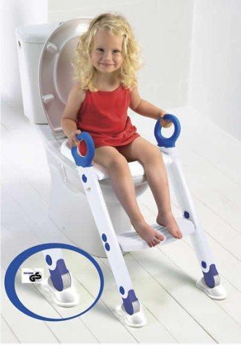 Toilettentrainer Toiletten-Trainer XL weiß/blau K & D Design 95.2240/00 EK 622498