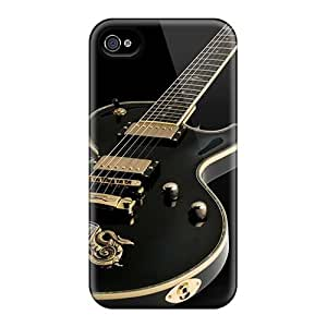 Apple Iphone 4/4s YKK1016MsCF Custom Colorful Metallica Image Anti-Scratch Hard Phone Cases -AlissaDubois