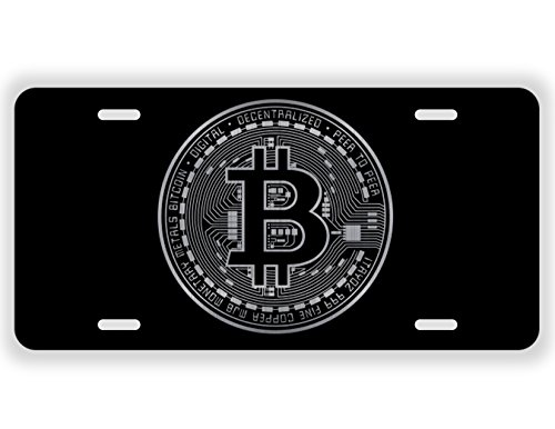 Bitcoin Blockchain Cryptocurrency Coin Laser Etched License Plate Gold Crypto Mining Sticker Mastering Digital Money Currency Revolution Cryptocurrencies Wallet Litecoin Ripple Ethereum Cryptoassets (Best Wallet For Ripple)