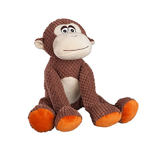 fabdog Floppy Monkey Squeaky Dog Toy (Large)