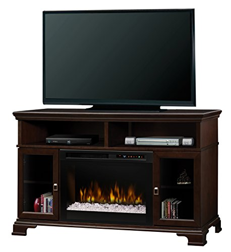 DIMPLEX Brookings Media Console Electric Fireplace, Small, E
