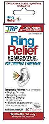 TRP Ring Relief, 50 Dissolving Tablets Each (Pack of 2)