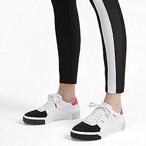 Perca Escarpa Punta de flecha  PUMA Cali Remix, Women's Sneakers, (White 02), 6 UK (39 EU): Buy Online at  Best Price in UAE - Amazon.ae