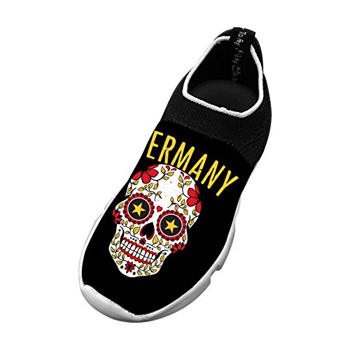 Vchat Fly knit Leisure Shoes Germany Skull Fashion Leisure For Youngster Boy Girl