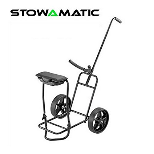 Stowamatic Glider Golf Trolley with Seat by Stow a Matic