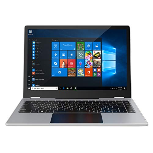 """Windows 10 Pro Laptop 13.3"""" Rugged, Full HD Touchscreen Business Notebook Computer with Intel Pentium J4205, Quad-Core…"""