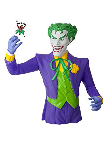 DC Comics The Joker Bust Coin Bank