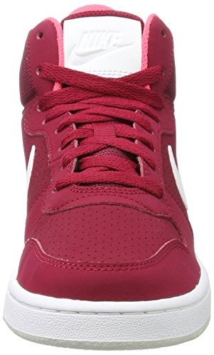 noble Red Platinum pure Borough Mid Baskets Hautes Court white Rouge solar Red Nike Femme q0OFPF