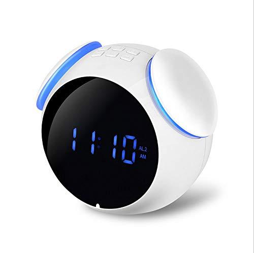 SPEAKERS Altavoz Inalámbrico Bluetooth Reloj De Alarma ...